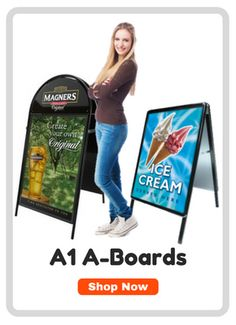A large range of Pavement Signs and Advertising A Boards. Includes A Frames, Swingers, Chalk Boards and Forecourt Signs in a variety of sizes and shapes to suit all situations. Board Shop, Exhibition Display, Advertising Signs, Pavement, Boards, Frame, Expo Stand, Planks, Picture Frame