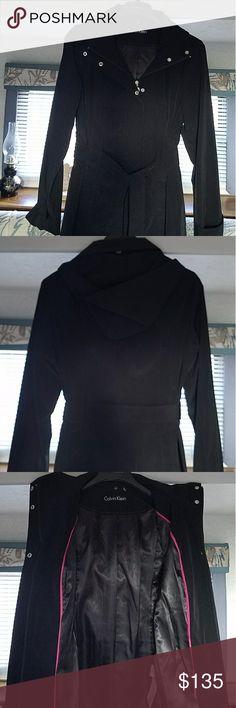Calvin Klein Jacket NWT Calvin Klein Jacket , XL water repellent with detachable hood. Calvin Klein Jackets & Coats