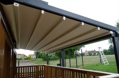 Available in many sizes, the Robust Terraced Awning has a fully retractable PVC canopy, which at the touch of a button can be extended to provide shelter, or retracted to take advantage of the good weather. Due to the high tension PVC fabric the canopy offers a flat surface that guarantees the discharge of rain water.