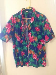 93e12420c536 Vintage Hawiian shirt Mens L #fashion #clothing #shoes #accessories # mensclothing #