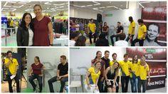 Ontem, 07/08 no Rio de Janeiro, aconteceu o evento da Centauro com a participação da #Atleta e #Palestrante #AnaMoser. Mais um evento de sucesso e mais uma vez cliente satisfeito!  #PrismaPalestras #OsMelhoresPalestrantes   www.prismapalestras.com