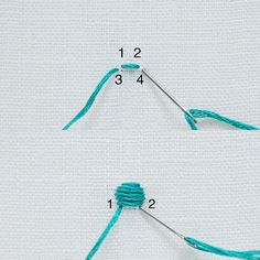 Embroidery Stitches guide - Satin Stitch | molliemakes.com