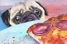 Pug and Pizza - Marmont Hill