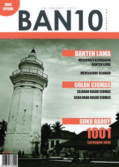 BAN10 magazine cover design