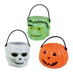 Halloween mandjes