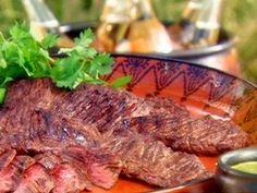 Argentinean Barbecued Steak from CookingChannelTV.com