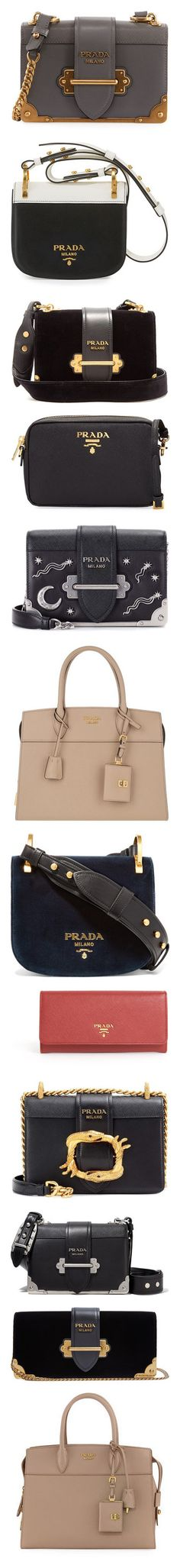 """Prada👜"" by petitaprenent ❤ liked on Polyvore featuring bags, handbags, shoulder bags, black, leather purses, prada shoulder bag, flap crossbody, leather crossbody purse, leather crossbody and prada"