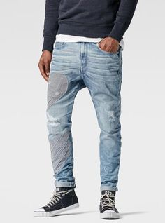 RAW for the Oceans - Type C 3D Super Slim Jeans