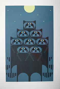 Charley Harper - it's my nieces and nephews!