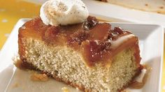 Give pineapple upside-down cake a makeover with apples and a sweet caramel sauce.