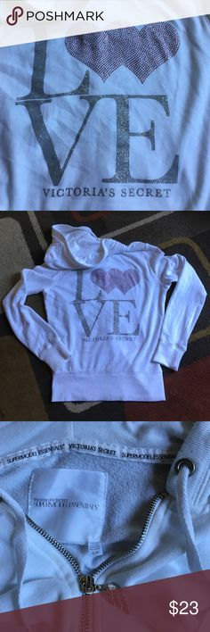 Victoria's secret supermodel essentials hoodie Material is 60% cotton 40% polyester perfect for the beach Victoria's Secret Jackets & Coats