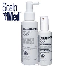 Scalpmed for Men.  Complete hair growth formula.
