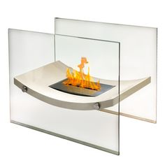 Anywhere Fireplace Broadway Ventless Free Standing Ethanol Fireplace – Modern Blaze #modernblaze