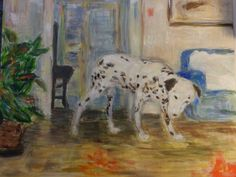 A Dalmatian in a room, Brecea, Italy. on Behance