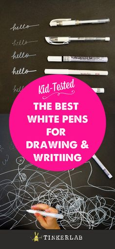 the best white pens for drawing and writing