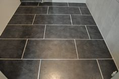 Rectangular Floor Tiles In Brick Pattern
