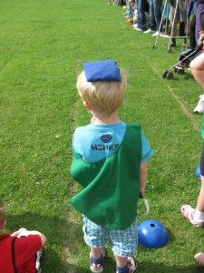 Ideas for Sports Day - will he do as well as in the nursery sports day? #backtoschool