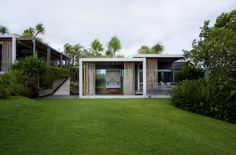 Off the Grid Villa Tantangan in Bali Constructed With Lush Shrub Roof  For Insulation