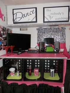 The girls renovated and remodeled camper/ travel trailer. Hot pink, zebra, black, white and silver! Camping Items, Camping Glamping, Trailer Decor, I Go To Work, Complete Bathrooms, Camper Makeover, Remodeled Campers, Pink Zebra, Camper Ideas