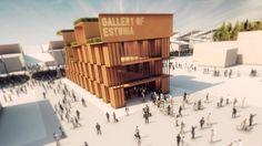 Pavilion of Estonia - Gallery of Eesti @ #Expo2015