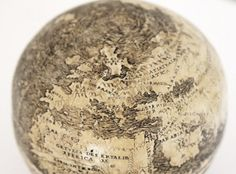 A globe engraved on an ostrich egg, dated 1504, has emerged as perhaps the oldest known globe to include the New World