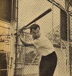 Tony play a baseball