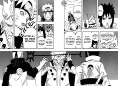 Naruto chapter 671. Naruto and The Sage of the Six Paths. My gosh! This chapter is the best so far! Fantastic!!