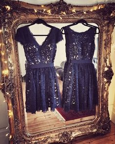 The 'Sarah' & 'Alexia' dresses ready for the big day.