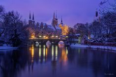 Merseburg Castle and Palace at wintertime by Frank Waßewitz on 500px