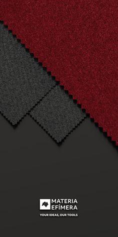 Combinación de moqueta ferial color burdeos con marengo para stands, ferias, congresos y eventos. #Your