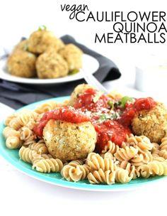Vegan Cauliflower Quinoa Meatballs 61