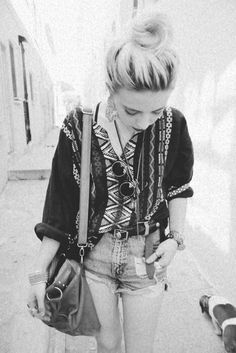 Gillian Zinser and her beautiful style !