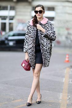 Street style at Milan Fashion Week Fall 2014