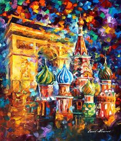 ORIGINAL OIL PAINTINGS FROM MOSCOW  ART SHOW http://afremov.com/ORIGINAL-MOSCOW-PALETTE-KNIFE-Oil-Painting-On-Canvas-By-Leonid-Afremov-Size-24-x36-SKU20604.html?bid=1&partner=20921&utm_medium=/vpin&utm_campaign=v-ADD-YOUR&utm_source=s-vpin