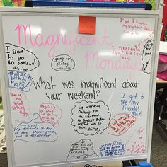 Monday's morning message! #4KP #miss5thswhiteboard