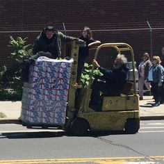 Three generations of #forklift #safetyfail