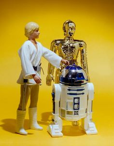 A farm boy and his droids photo by Kim David McNeill Simmons