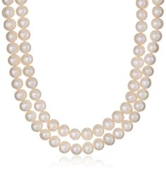 Freshwater Cultured 7-7.5mm Pearl Endless Strand Necklace, 100' >>> Want to know more, click on the image.