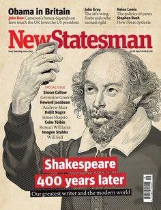 New Statesman - Shakespeare on Behance