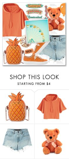 """End Of The Summer Carnival"" by queenvirgo ❤ liked on Polyvore featuring T By Alexander Wang and Del Toro"