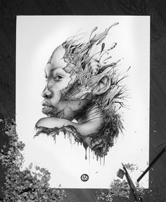 The Endless Faces Series - PEZ Artwork Nantes, France Mini series of 5 portraits Graphite pencils on paper Size : Design Poster, Poster Designs, Art Design, Rolls Royce Silver Shadow, Pencil Drawing Tutorials, Pencil Drawings, Art Drawings, Pencil Art, Drawing Ideas