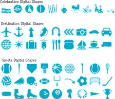 digital shapes from pixels2pages