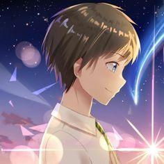 Secuil Gambar Anime - Kimi No Nawa - Halaman 3 - Wattpad Kimi No Na Wa Wallpaper, Wallpaper Wa, Cute Couple Wallpaper, Cute Anime Wallpaper, Anime Couples Drawings, Anime Couples Manga, Cute Anime Couples, Anime Neko, Kawaii Anime