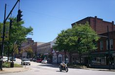 Kent, Ohio. My college town & inspiration for West River.