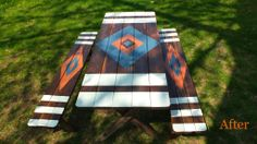 CURIO LOVE | Before and After: Picnic Table Upgrade | http://www.curiolove.com.