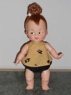 Vintage Ideal 1964 Flintstones 14 Quot Baby Pebbles Doll Hair