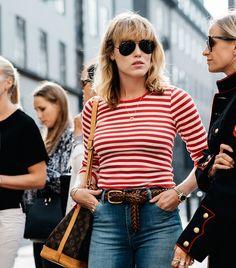 dustjacketattic:  stripes & jeans   photo soren jepsen