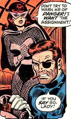 Don't try to warn the Black Widow of danger! —Amazing Spider-Man #86 (1970) by Stan Lee & John Romita Sr.