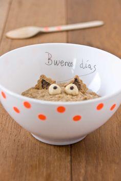 monster porridge by #littlecook