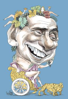 Silvio Berlusconi - Pancho Cajas